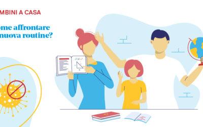 Coronavirus: bambini a casa – ecco cosa fare
